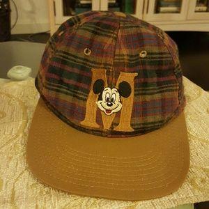 Vintage Disney Mickey Mouse Baseball Cap